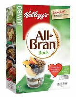 Kellogg's All-Bran Buds Cereal Jumbo Pack 2.3lbs! 46% Daily Fibre-Free Shipping