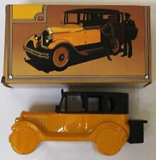 Vintage Avon 1926 Checker Cab After Shave Decanter With Box