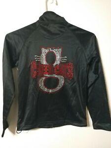 📣⚽🥅GTM Sportswear Youth Girl's Medium Cheer Cats Cheerleading jacket