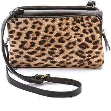 NWT Madewell Leopard Calf Hair Twin Pouch Crossbody Leopard Print Purse Bag Hand
