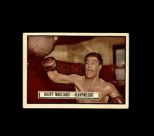 1952 TOPPS RINGSIDE #32 ROCKY MARCIANO BOXING EX-MT