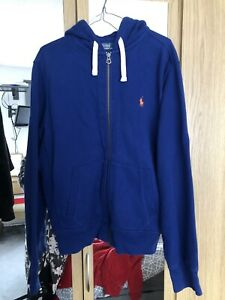 Blue Ralph Lauren Hoodie Medium