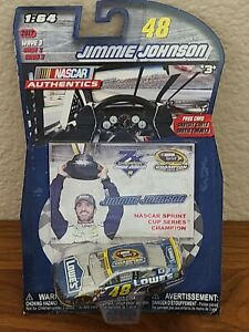 2017 Wave 3 Jimmie Johnson 2016 Lowe's Champion 1/64 NASCAR Authentics Diecast