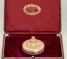 18k gold&Diamonds Patek Philippe pocket watch award by Russian Tsar Alexander II
