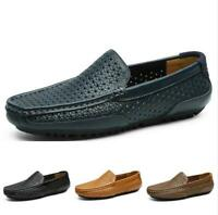 Casuals Shoes Men Fashion Hollow Out Leisure Low Cut Loafer Breathable Flats New