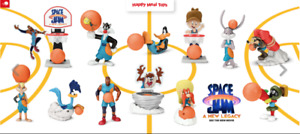 2021 McDONALD'S WB Space Jam New Legacy Lebron HAPPY MEAL Toys SEALED 1 DAY SHIP