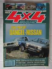 4X4 MAGAZINE N° 79 /PICK UP DANGEL VS NISSAN/ESPACE QUADRA/RETROSPECTIVE JEEP