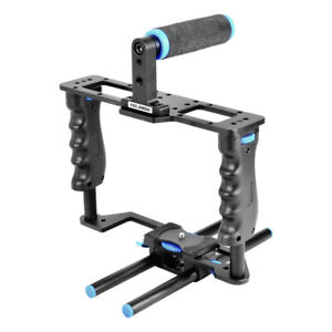 Portable stabilizer Fit For Olympus Alum Alloy Movie Camera Video Making Kit