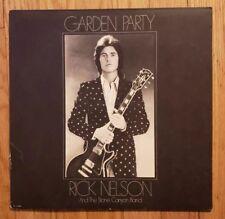 RIck Nelson Stone Canyon Band - Garden Party LP Vinyl Record GLOVERSVILLE Decca