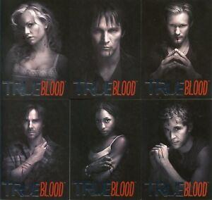 True Blood Premiere Edition Black & White Chase Card Set