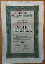 OHIM - Deutsche Holzimport AG - 1000m - 1920