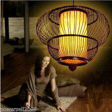 Chinese Style Dark Coffee Diameter 68CM Bamboo Restaurant Droplight/Chandelier