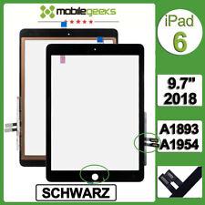 für iPad 6 2018 Touchscreen Digitizer Display Glas 6th Gen. SCHWARZ A1893/A1954