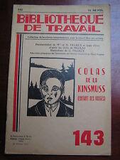 BT 143 1951 Colas de Kinsmuss  1865 LE MENIL