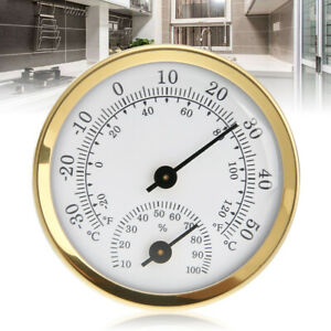 Indoor Analog Thermometer Hygrometer Humidity Temperature Gauge  Household Tool