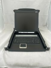 Aten CL1000M LCD OSD Master Viewmax KVM Keyboard Video Mouse Slideaway Console