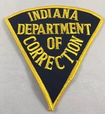 Indiana State Department of Correction Police Cloth Patch