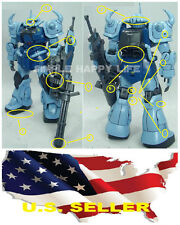 Metal Detail Up Part Set For Bandai MG 1/100 MS-07B-3 B3 Gouf Custom ❶USA❶