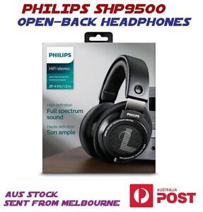 New Philips SHP9500 Over-ear Open Back Hifi Headphones Wired Stereo earphones