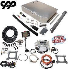 55-57 Chevy Belair FITech 30001 Go EFI 4 Gas Tank Install 600HP Conversion Kit