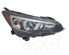 TYC NSF Right Side Halogen Headlight For Subaru Impreza 2017-2020 Models