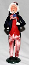 Byers Choice Uncle Sam Caroler - Patriotic - New - Free Priority Shipping