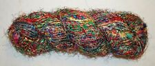 Recycled Sari Silk Skein 250g - Knitting Crochet Yarn Thread Nepal Craft