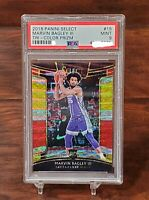 2018 Panini Select Marvin Bagley III Tri-Color Prizm PSA 9 Mint RC Rookie Kings