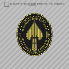 US Joint Special Operations Command Sticker Self Adhesive Vinyl USSOCOM