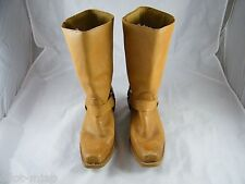 VINTAGE ~ TEXAS STEER ~ WORK BOOTS ~ SIZE 7.5 ~  MADE IN KOREA
