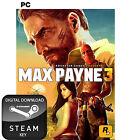 MAX PAYNE 3 PC AND MAC STEAM KEY