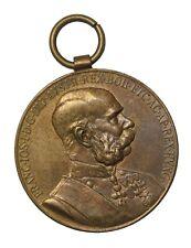 France 1898 Franz Joseph Bronze Medal