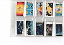 Brooke Bond Tea Out into Space full set of 50 cards. CV £60