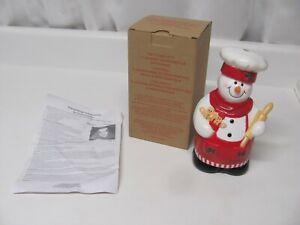 Avon Talking Refrigerator Snowman Light Activated 436504 Christmas