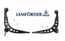 For BMW E30 Control Arm Steel Front Lower L+R 2 OEM Lemfoerder Wishbone Link