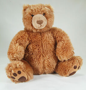 "Gund Kohls Cares Brown Grizzly Bear Teddy Plush  #44184 14"" Sitting"
