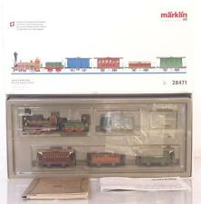 "SUPERB MARKLIN 28471 HO 3 RAIL AC - ""THE FIRST SWISS TRAIN"" 5 CAR SET, LIGHTS"