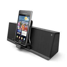 iLuv iMM377BLK MobiAir Bluetooth Stereo Speaker Dock for Smartphones, Black