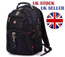 "17"" Original Waterproof Swiss Gear Men Travel Bags Laptop Hike Backpack SA8112"