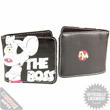 Faux Leather Band Cartoon Wallets for Men