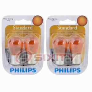 2 pc Philips Parking Light Bulbs for Scion xB 2004-2010 Electrical Lighting zm