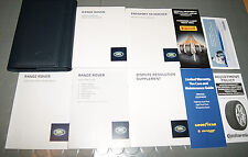 2014 Range Rover Land Rover Owners Manual - SET