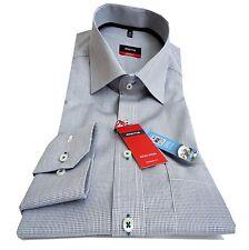 ETERNA Modern Fit Hemd Gr.40 bis 45 Minikaro Baumwolle bügelfrei 4411/19 X187