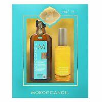 Moroccanoil Original Hair Treatment Oil 3.4 oz with Pump + Dry Body Oil