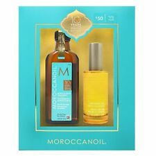 Moroccanoil Original Hair Treatment Oil 3.4 oz with Pump + Dry Body Oil