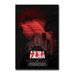 Akira Anime Movie Silk Poster Canvas Wall Art  Bedroom Decor Print 24x36 inch