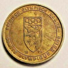 Jetons & Médailles, Belgique, Médaille, Comité Olympique Belge 1978