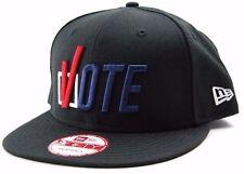 New Era 9FIFTY Check Box Vote Snapback Flat Bill Cap Hat  OSFM