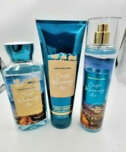 Bath and Body Works Crisp Morning Air Collection