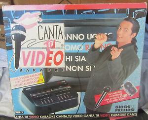 Karaoke Cantatu Canta Tu Video Fiorello Cassette Giochi Preziosi